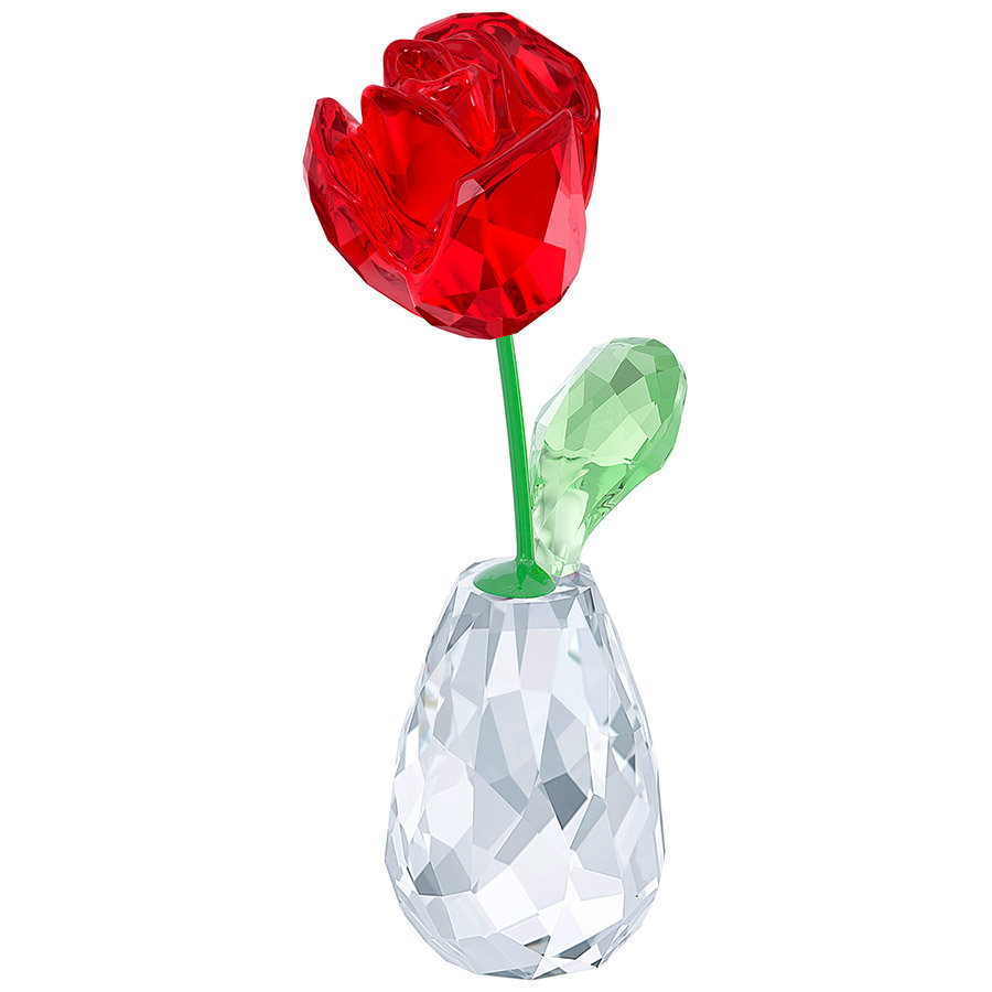 FLOWER DREAMS - RED ROSE Swarovski gifts4you peiraias