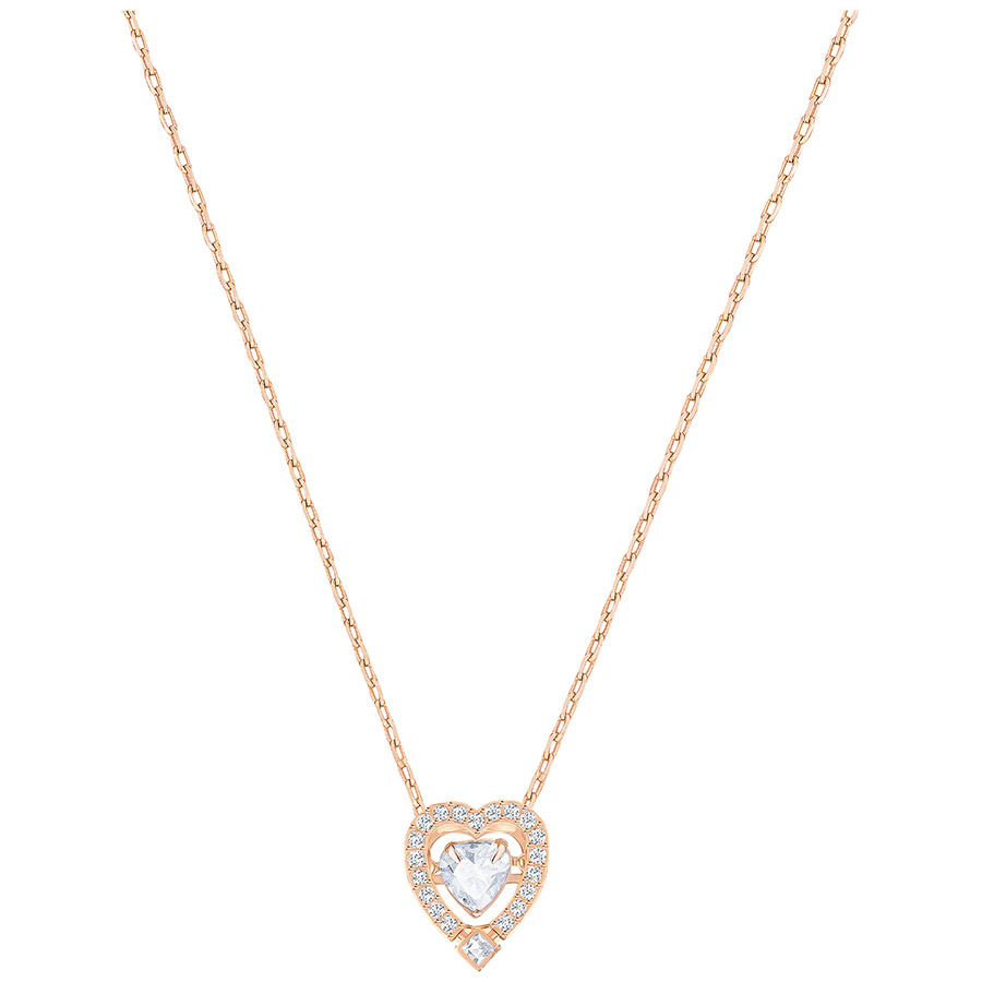 SPARKLING DANCE HEART NECKLACE