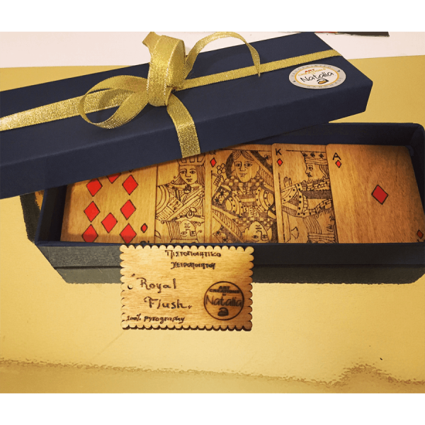ROYAL FLUSH Art Creations by Natalia gifts4you peiraias