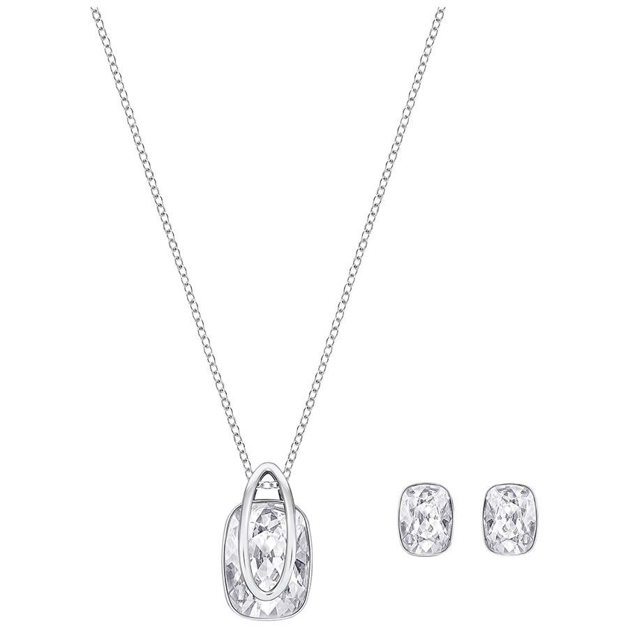 Swarovski-Holding-Set-White-Rhodium-plating-5292788